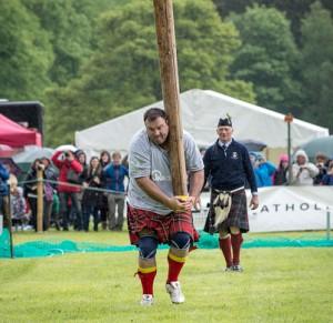 Les Highland games sont les jeux traditionnels en Écosse