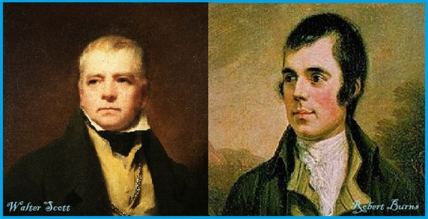 Deux hommes de lettres écossais