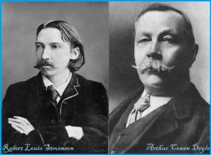 Deux romanciers écossais