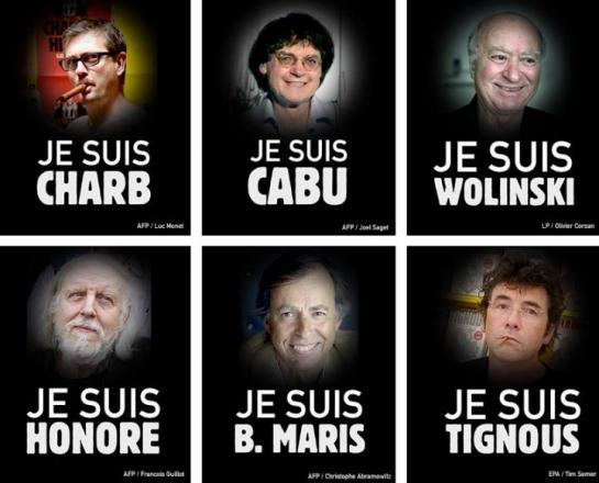 certaines personnes décédées attentats charlie hebdo
