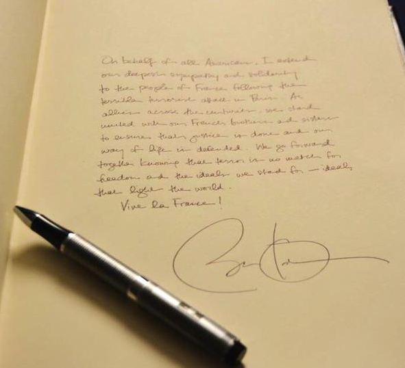 soutien obama charlie hebdo