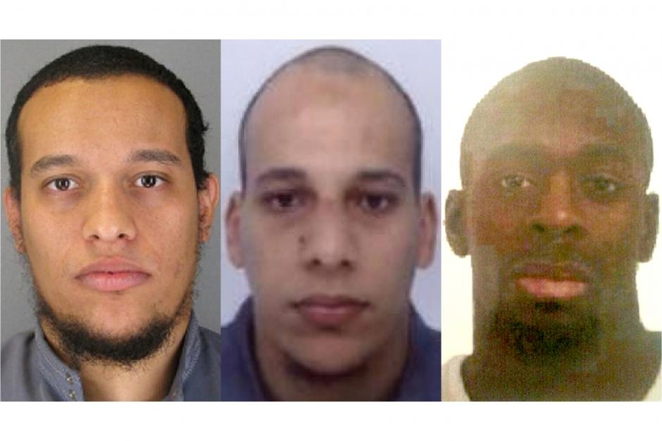 3 terroristes charlie hebdo