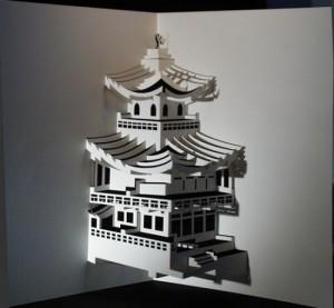 Le kirigami est l'art du papier découpé
