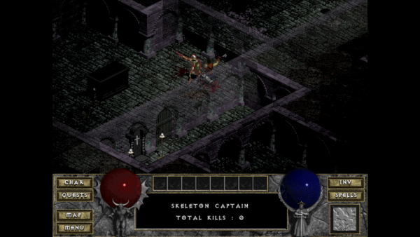 Graphisme Diablo I