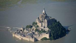 Marée du siècle Mont Saint Michel