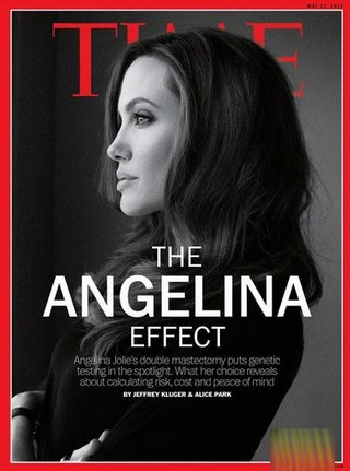 L'actrice américaine  Angelina Jolie