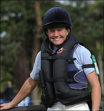 Un gilet de protection d'équitation