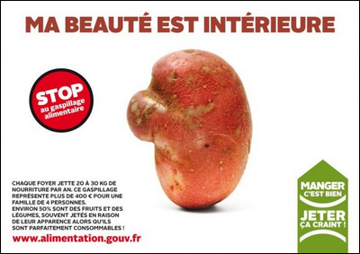 Publicité du gouvernement français
