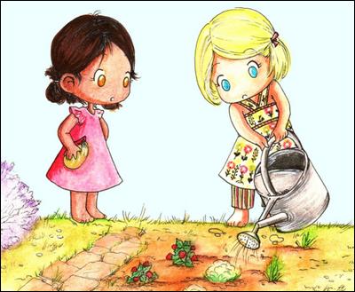 Le jardinage comme loisir pour l'enfant