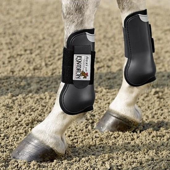 Les protections du cheval