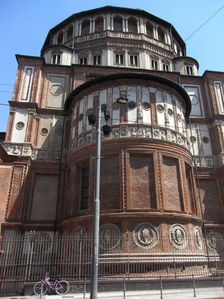 Visiter Milan Santa Maria delle Grazie