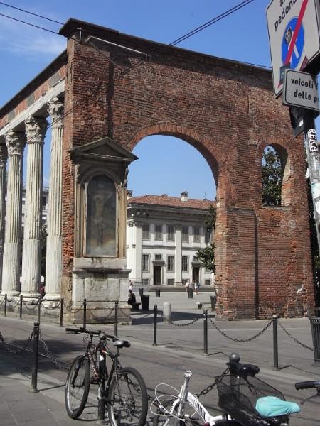 Visiter Milan colonne di San Lorenzo