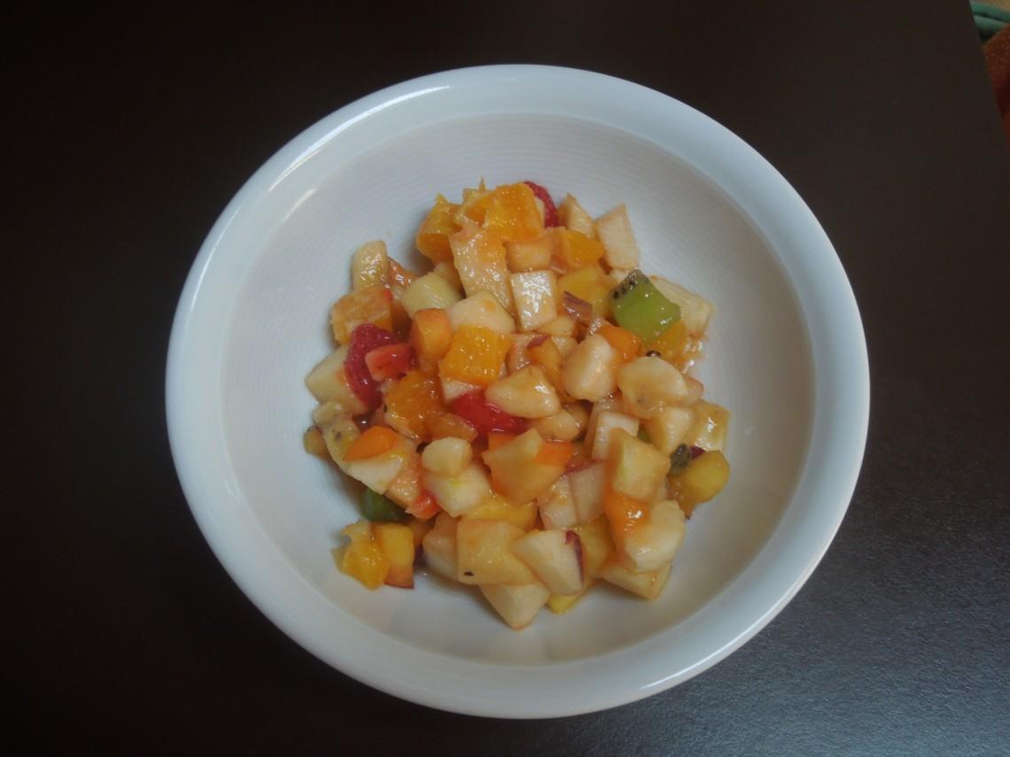 Salades de fruits estivales