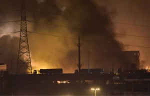 incendie Tianjin Chine
