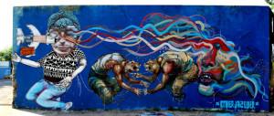 Premier artiste de rue