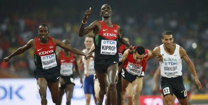 champion du monde 2015 du 1500m