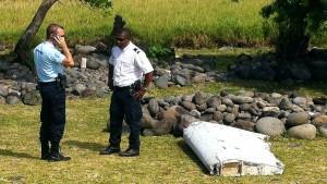 un reste avion malaisien MH370 retrouvé