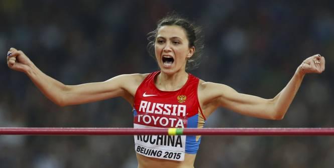 championne du monde saut en hauteur 2015