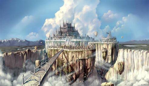 Asgard est un royaume de la mythologie nordique