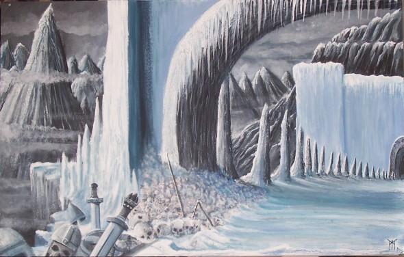 Niflheim est un royaume de la mythologie nordique