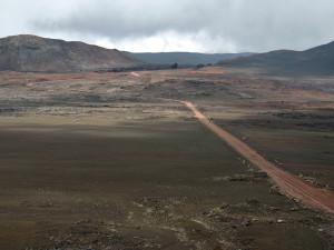roche basaltique à la Réunion