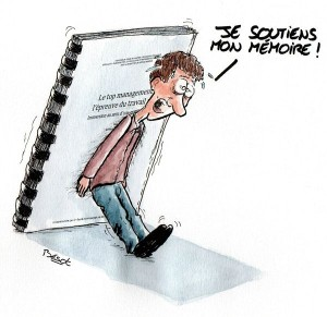 soutenir son mémoire de recherche en master