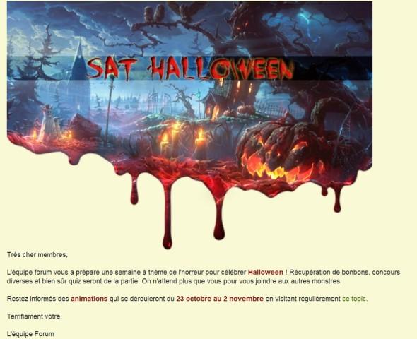 SAT Halloween