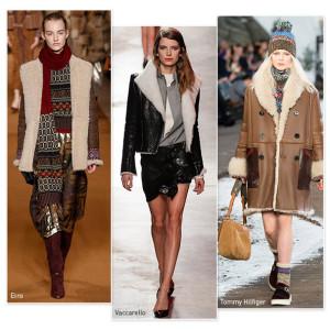 La peau lainée à la mode en 2015-2016