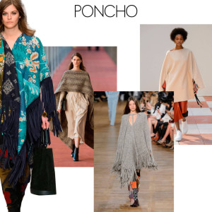 Le poncho à la mode