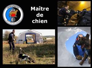 Gendarme maitre de chiens
