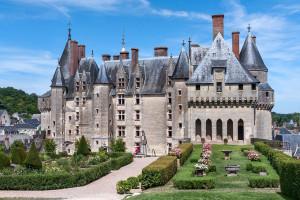 Vue du château de Langeais