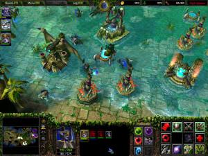 Exemple d'une partie Warcraft