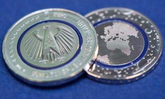 Pièce 5 euros nouvelle dans le mois d'avril 2016