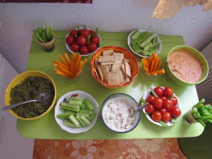 Des idées pour des apéritifs dînatoires