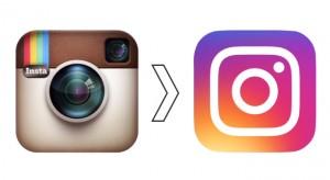 Le logo Instagram remplacé