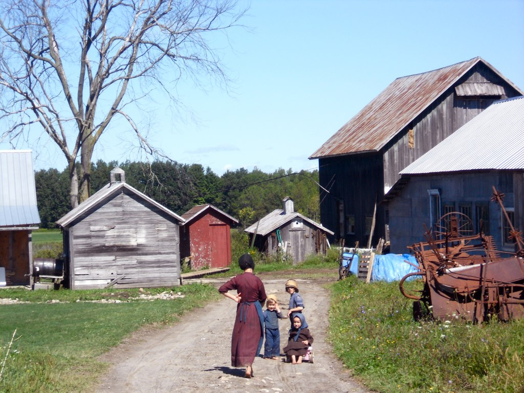 Voici une communauté Amish