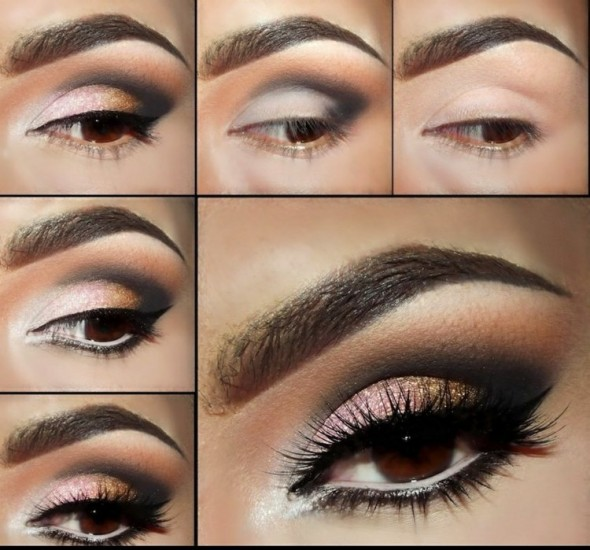 Tutoriel de smoky eye