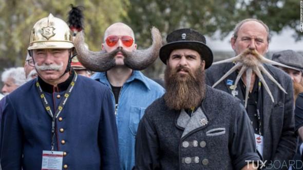 candidats barbes et moustaches