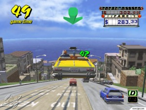 crazy taxi jeu de voiture