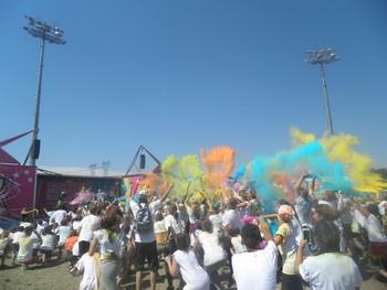 Une expérience colorée : retour sur la Color Obstacle Rush de Lyon