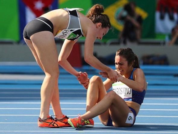 Hamblin et D'Agostino JO Rio 2016