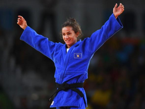 Majlinda Kelmendi JO Rio 2016
