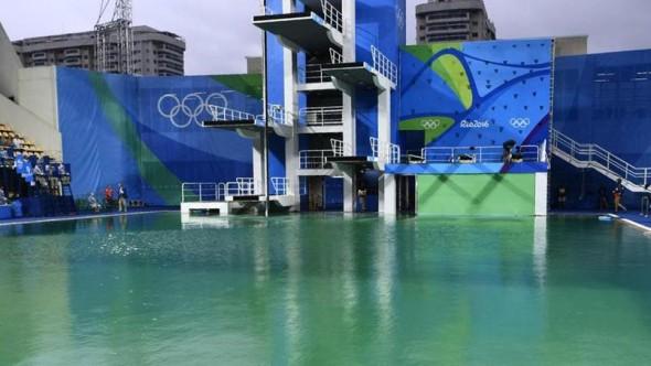 Piscine verte JO Rio 2016