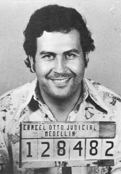 Une photo de Pablo Escobar