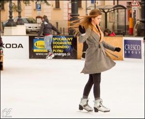 Un manteau à coupe patineuse