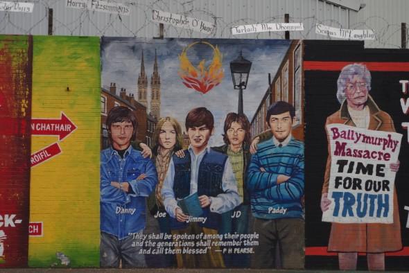 Fresque à Belfast