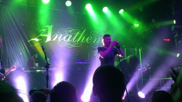 Anathema concert Dublin Resonance tour