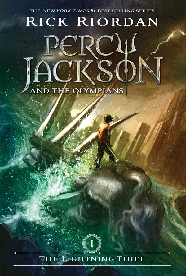 The Lightning Thief est un livre facile à lire en anglais