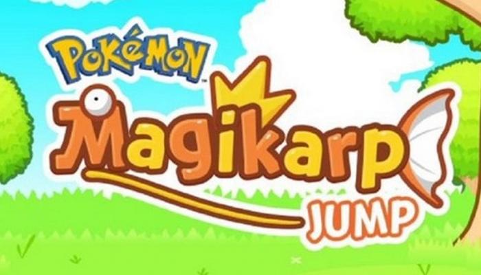 Magicarpe Jump, le nouveau jeu mobile de la saga Pokémon