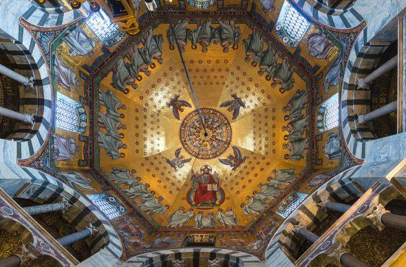 Coupole de la cathédrale d'Aix-la-Chapelle